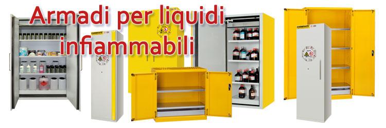 Armadi per liquidi infiammabili