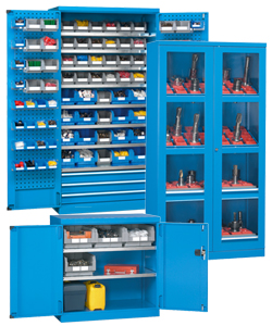 Storage cabinets and lockers