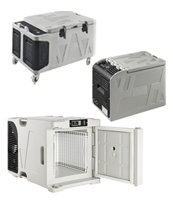 Biomedical insulated containers and medical cool boxes