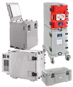 Insulated containers with ATP certification