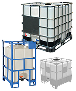 IBC containers and IBC totes