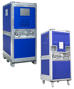 Insulated containers for logistics
