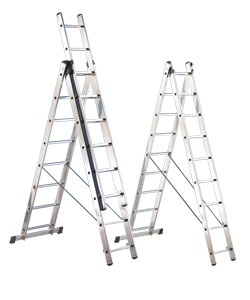 Extension and combination ladders