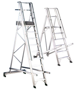 Warehouse ladders and steps