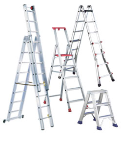 Ladders and step ladders
