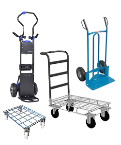 Warehouse cart and sack barrow