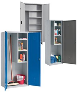 Utility cupboards for brooms