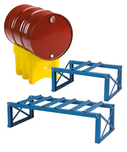 Drum supports