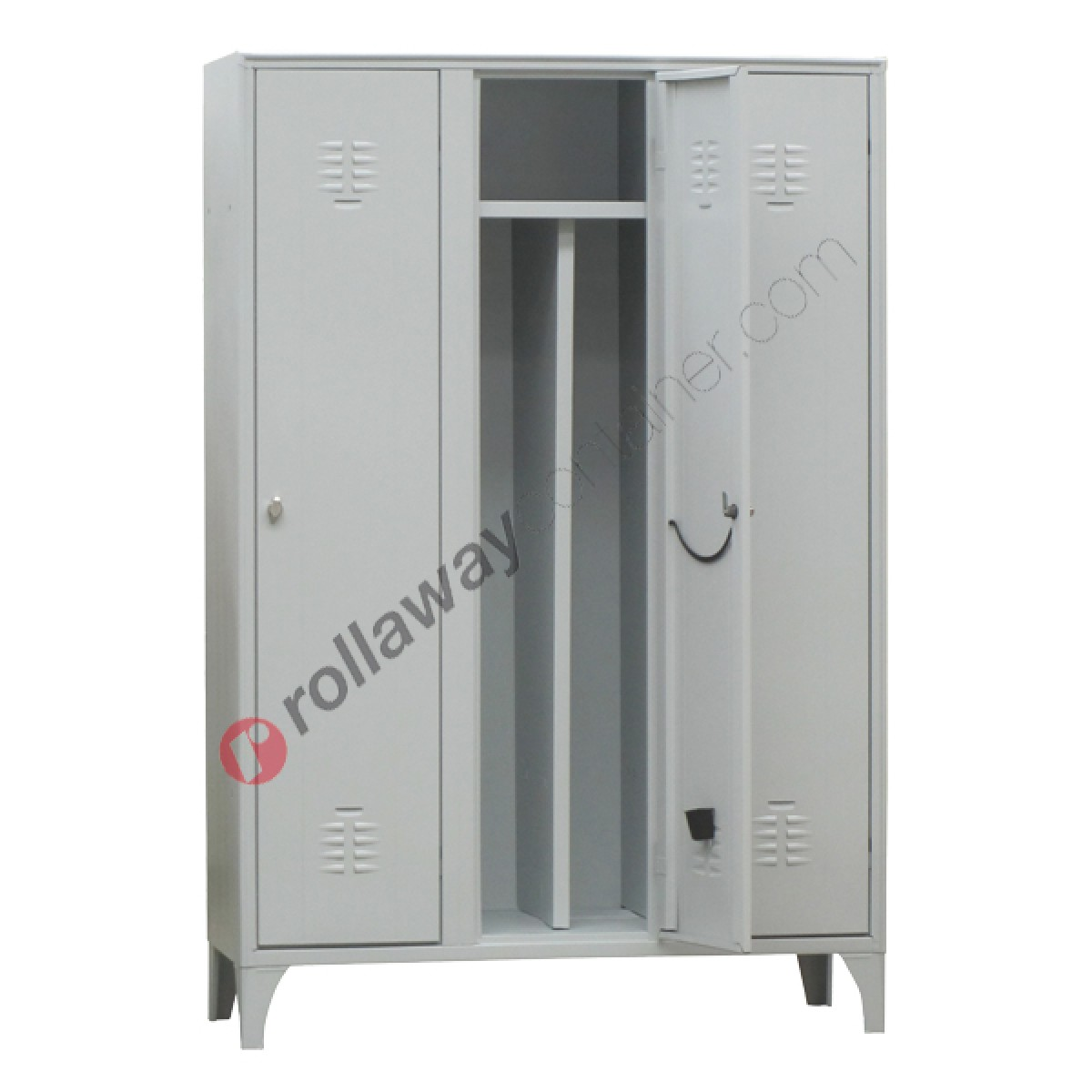 Armadietti Spogliatoio Sporco Pulito.Clean And Dirty Lockers Metal 3 Doors With Lock 3 Places
