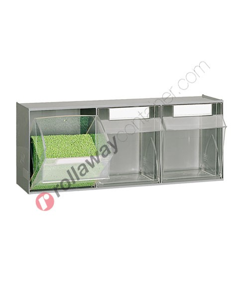 Small parts storage cabinet 600 x 209 H 240 mm complete 3 drawers