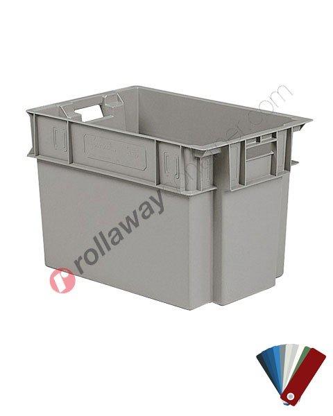 Heavy duty storage box 600 x 400 H 400 mm
