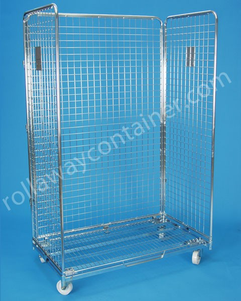 Roll container Shelf
