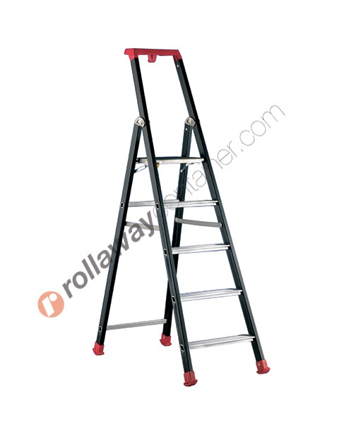 Platform ladder professional anodized Marea Tech