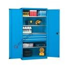 Workshop cabinet 1023x555 H 2000 mm with 2 doors