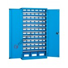 Workshop cabinet 1023x555 H 2000 mm with shelves and storage bins