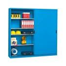 Workshop cabinet 2046x450 mm with 2 sliding doors