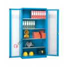 Workshop cabinet 1023x400 H 2000 mm with 2 polycarbonate doors