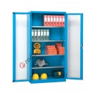 Workshop cabinet 1023x555 H 2000 mm with 2 polycarbonate doors