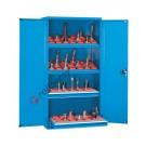 Workshop cupboard 1023x555 H 2000 mm with 2 doors