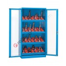 Workshop cupboard 1023x555 H 2000 mm with 2 polycarbonate doors