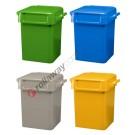Rubbish bin 50 lt with handles