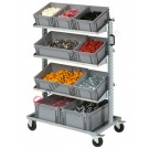 Euro container Smart trolley 10353 with 9 euroboxes