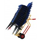 Sack truck for high packages with solid wheels capacity 250 kg Rambo