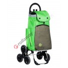 Stair climbing shopping trolley in aluminum with thermal bag Koala Ice