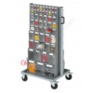 Smart Trolley 073 with small parts storage cabinets