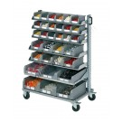Smart Trolley 101 with open fronted storage bins