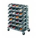 Smart Trolley 102 with open fronted storage bins