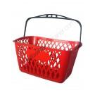 Plastic shopping basket 22 liters