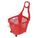 Wheeled shopping basket 66 lt