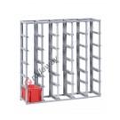 Configure your stackable shelving H 1300 mm for euroboxes