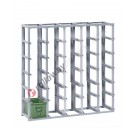 Configure your stackable shelving H 1300 mm for metal boxes