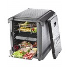 EPP insulated box front opening Gastronorm GN 1/1