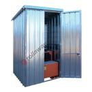 IBC storage cabinet in galvanized steel 1750 x 1915 x 2730 mm