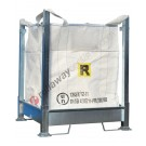 Big bag rack with dismountable galvanized steel 1070 x 1070 x 1350 mm structure