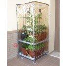 Steel greenhouse trolley