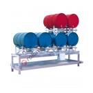 Drum dispensing station with 268 lt spill pallet