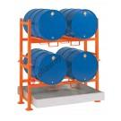 Drum dispensing station with 270 lt spill pallet