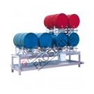 Drum dispensing station with 400 lt spill pallet