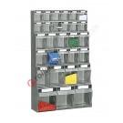 Tilt bin storage with drawers 1000 mm