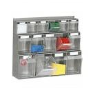 Tilt bin storage with drawers 500 mm